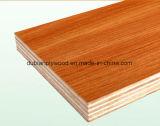 メラミンによって薄板にされる合板の卸売の家具のメラミンペーパー合板または木製品