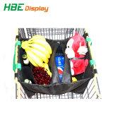 Carrito de Compras Carrito de compras la bolsa de supermercado con mango de plástico
