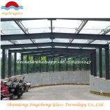 ventana de 13.8m m/vidrio laminado del claro del edificio/de la depresión