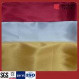 Tecido colorido de cetim de diferentes pesos