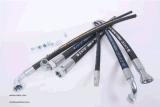 2SN Flame Resistant couvercle en caoutchouc flexible Msha hydraulique