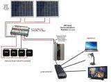 портативная солнечная электрическая система 5000W для поручать свет, компьтер-книжку