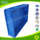 Recipiente de plástico pesado de cor azul para armazenamento eletrônico