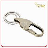 Kundenspezifischer guter überzogener Carabiner Haken mit Schlüsselkette