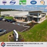 Stahlkonstruktion-Werkstatt mit Arbeitsbüro