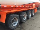 4 assi hanno personalizzato 50000 - 60000 L rimorchio dell'autocisterna del combustibile semi per l'esportazione