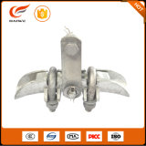 Xgu Ductile Iron Suspension Clamp Trunnion Type avec barre d'armure