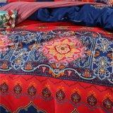 中国の製造者の寝具100%年のポリエステル固体シーツセット