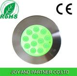 Bajo el agua, luz LED tricolor certificada CE