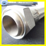 Mangueira trançada de alta temperatura do aço inoxidável da mangueira da mangueira flexível do metal 3/4 de polegada