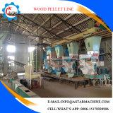 chaîne de production en bois de la boulette 2t/H fabrication