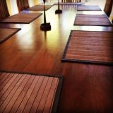 Placa de bambu Cozinha Jantar Mesa de jantar Ampla lata Placemats