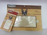 Sac de papier d'emballage avec le guichet clair