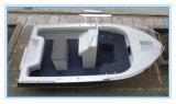 15FT/4.6m 깊은 V 선체 센터 조타 장치 어업 요트