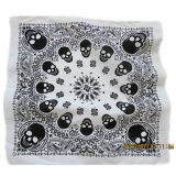 Custom Made Customized Design Skull imprimé promotionnel Cotton Biker Sports Bandana Headband