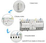 Interruptor de transferencia de la serie Rdq3nx energía dual automática (ATS)