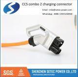 Plugue CCS padrão da IEC com cabo de 5 metros