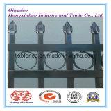 粉は高い装飾的の装飾、海岸によって囲う鋼鉄に電流を通された鋼鉄塗った