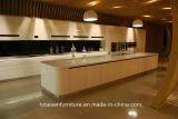2018新しいSimpeの台所家具のラッカー光沢のある食器棚の現代デザイン