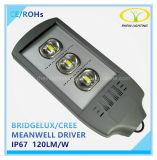 Certificación CE RoHS 240W de luz de la calle al aire libre con controlador Meanwell