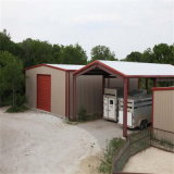 Entrepôt de structure métallique pour l'entrepôt et l'Individu-Storag de logistique