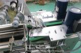 Máquina de etiquetas plástica da superfície superior do cartão da fonte da fábrica servo motor