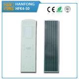 Indicatore luminoso solare Integrated esterno del giardino della via del sensore di movimento LED (HFK4-50)
