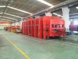 Bandas transportadoras de la cuerda de acero que vulcanizan la prensa (XLB-Q2400X10500MM)