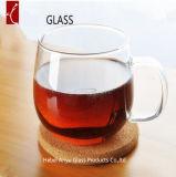 200ml in het groot Enige Muur die de Duidelijke Mokken van het Glas van de Koppen van de Koffie Borosilicate van de Koppen van de Thee van het Glas Hoge Elegante drinken