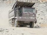 Тележка сброса короля Mining тонны 420HP Sinotruk HOWO 6X4 60
