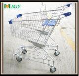 80 litros de carro de compras plateado cromo Mjy-80A