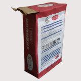 Bolsas de papel de papel de tres capas de Kraft del bolso del cemento del bolso de la válvula del papel de Kraft
