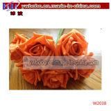 Поставка цветка Rose венчания искусственного цветка Florist на день Valentine (W2036)