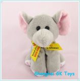 Le petit animal estampé de logo joue le jouet de gosses de jouets de peluche