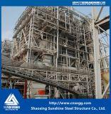 Struttura d'acciaio prefabbricata di disegno industriale per la centrale elettrica