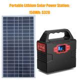Мощный генератор солнечной энергии солнечной системы питания с разъемами USB/AC/DC Выходной