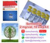 安全で及び有効な生物同一のホルモンのペプチッドSermorelin (2 mg/vial)