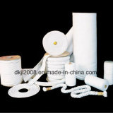 Isolamento térmico de alta temperatura corda de fibra cerâmica para estanqueidade
