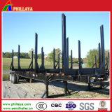 2 трейлер древесины перехода Axles 40FT