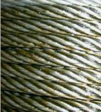 Corda de fio de aço ordinária do uso (sem chapeamento ou com zinco-chapeamento) (001)