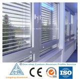 Perfil de alumínio de venda quente do material obturador/obturador da janela