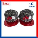La Mens personalizada tapas de color rojo de verano y el Hip-Hop Hat