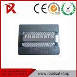Parafusos prisioneiros de alumínio reflexivos da estrada do marcador da estrada do parafuso prisioneiro da estrada do olho de gato da segurança de tráfego