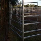 Painel oval australiano da jarda do cavalo da câmara de ar 6rails/painel jarda do gado