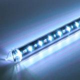 luz da câmara de ar do meteoro do diodo emissor de luz do estágio do efeito da estrela 3D para o clube de noite