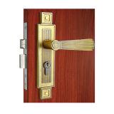 Levier d'entrée en acier inoxydable set Lock mortaise Serrures de porte de la poignée
