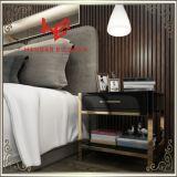 코너 테이블 (RS161601) 침대 Standmodern 가구 테이블 측 테이블 스테인리스 가구 홈 가구 호텔 가구 커피용 탁자 콘솔 테이블 탁자
