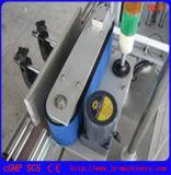 Двойной Fully-Automatic наклеек с обеих сторон машины на площади круглой пластиковой бутылки