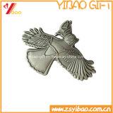 卸売(YB-LY-C-45)のための作成デザイン金属のバッジ