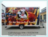 Vendas quentes Best Quality Food Food Van